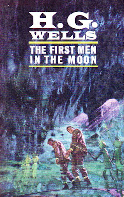 The First man in the moon by H G Wells