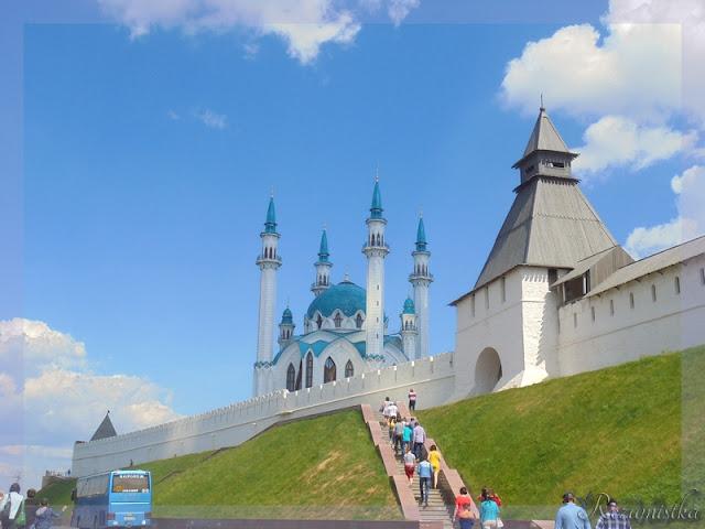 вид на стены Кремля