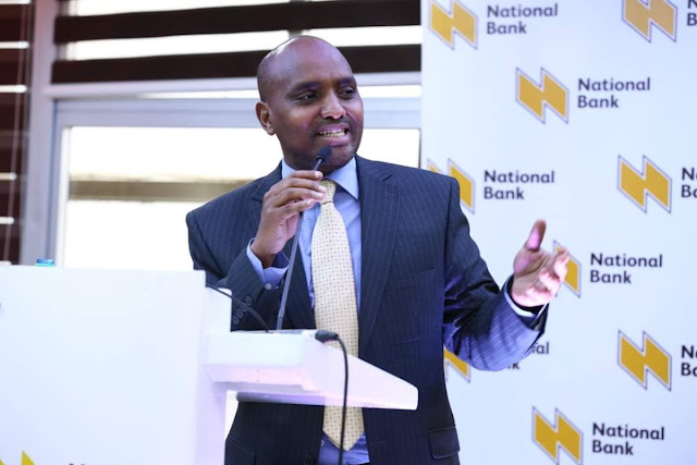 National bank of Kenya Managing director, Paul Russo