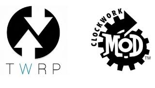 recovery mode samsung galaxy CWM أو TWRP