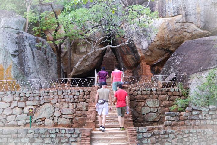 On the way Sigiriya, Sri Lanka