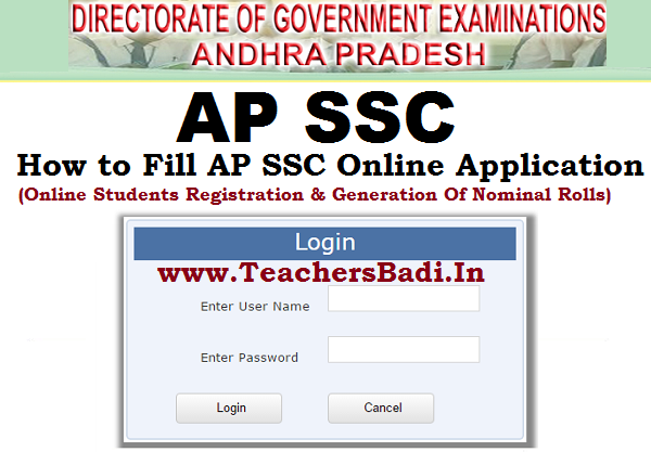 AP SSC, Online Application,BSEAP.ORG