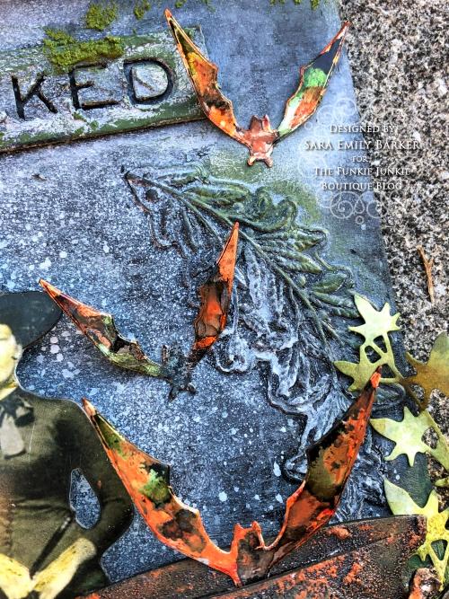 Sara Emily Barker https://sarascloset1.blogspot.com/2019/10/october-31-tombstone-for-funkie-junkie.html Tombstone Etcetera Tag 5