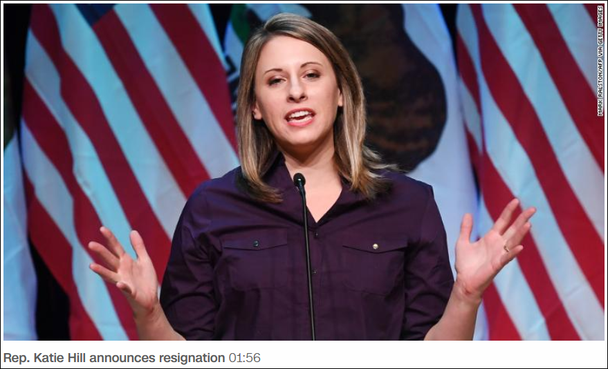 Photos leaked showing former congresswoman Katie Hill in