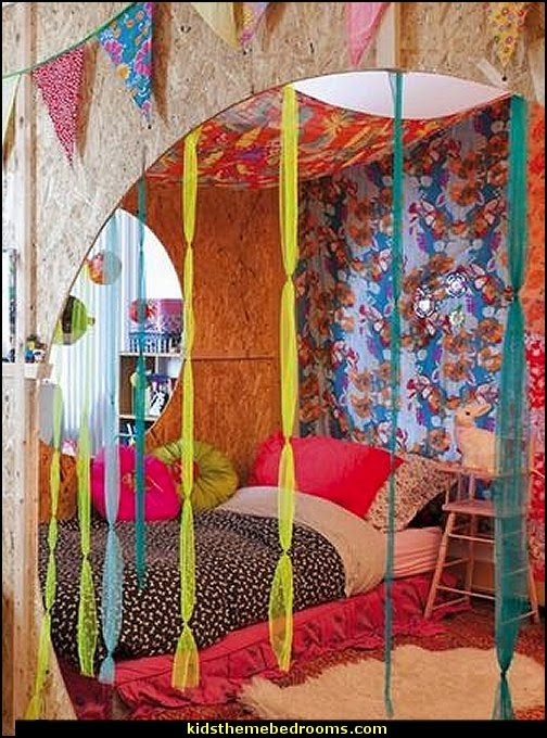 Girls Bedrooms · Teens Themes · Boho Style Decorating   Boho Decor    Bohemian Bedding   Boho Chic Decor   Boho Theme