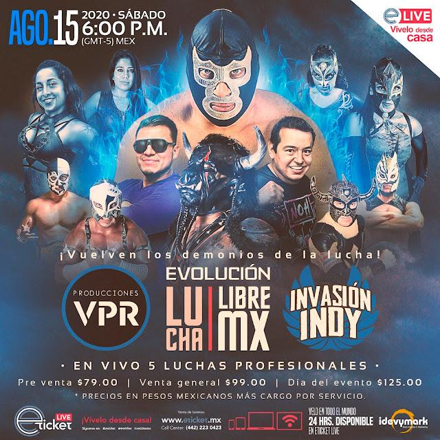 Vuelve la lucha libre mexicana, ahora en formato de Streaming