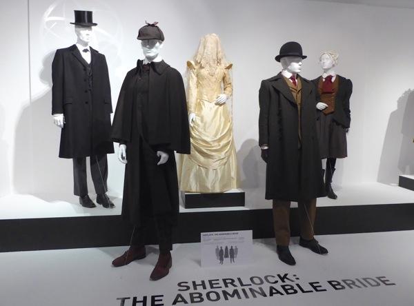 Sherlock Abominable Bride TV costumes