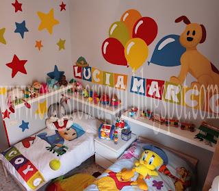 Murales infantiles en Trigueros