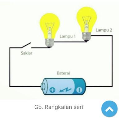 Rangkaian listrik seri dan paralel