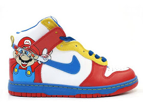 sólido enaguas Discutir  Animated Shoes/Nike Cartoon Shoes/Hello Kitty Nike: Paper Super Mario Nike  Animated Dunks Video Game Cartoon Character Shoes Cheap For Sale
