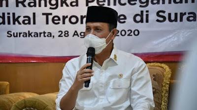 Kepala BNPT Boy Rafli Ajak Ponpes Al-Mukmin Ngruki Ciptakan Tunas Bangsa Cinta Tanahair