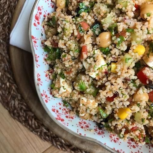 bunter Couscous-Salat