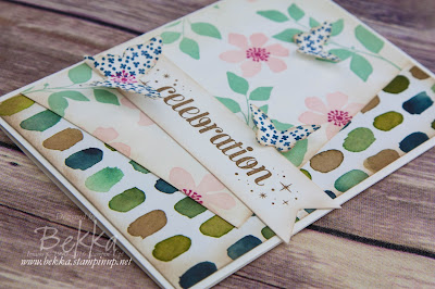 Summer Silhouette Celebration Card - Get the details here.  Stampin' Up! UK Supplies