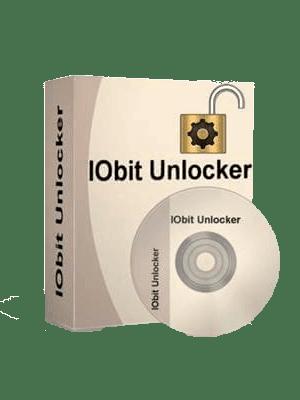 IObit Unlocker Box Imagen