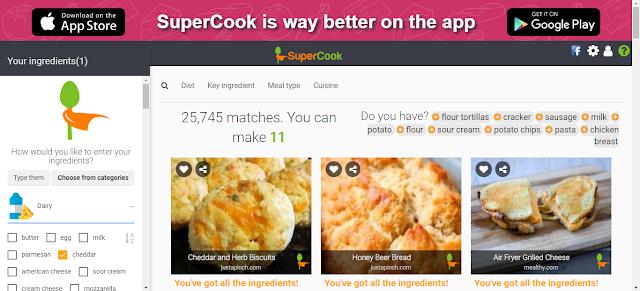 Supercook - fun websites