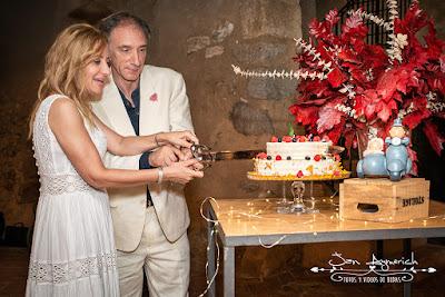 tartas de bodas barcelona