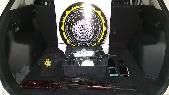 """Federales interceptan """"Dron"""" y al revisarlo encontraron que tría una """"bomba"""""""