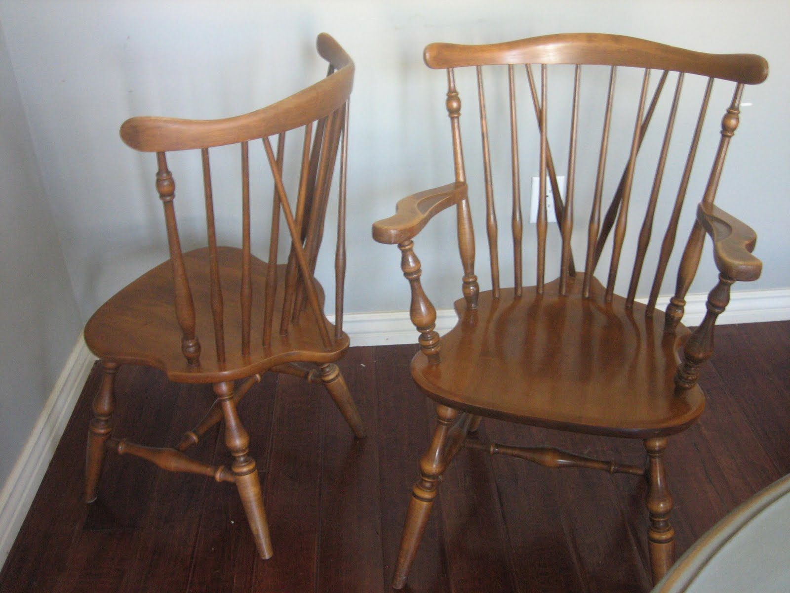 Ethan Allen Chairs Vintage Dining Room