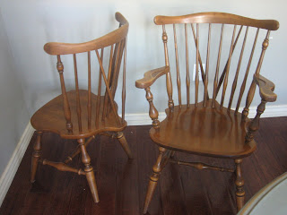 Ethan Allen Maple Dining Room Chairs