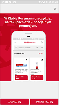 Aplikacja klubu  Rossmann jak działa? / Promocja Rossmann 49% / Co zamierzam kupić?