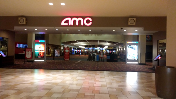 The AMC 20 Theatres inside Puente Hills Mall is reopened for business...as of April 3, 2021.