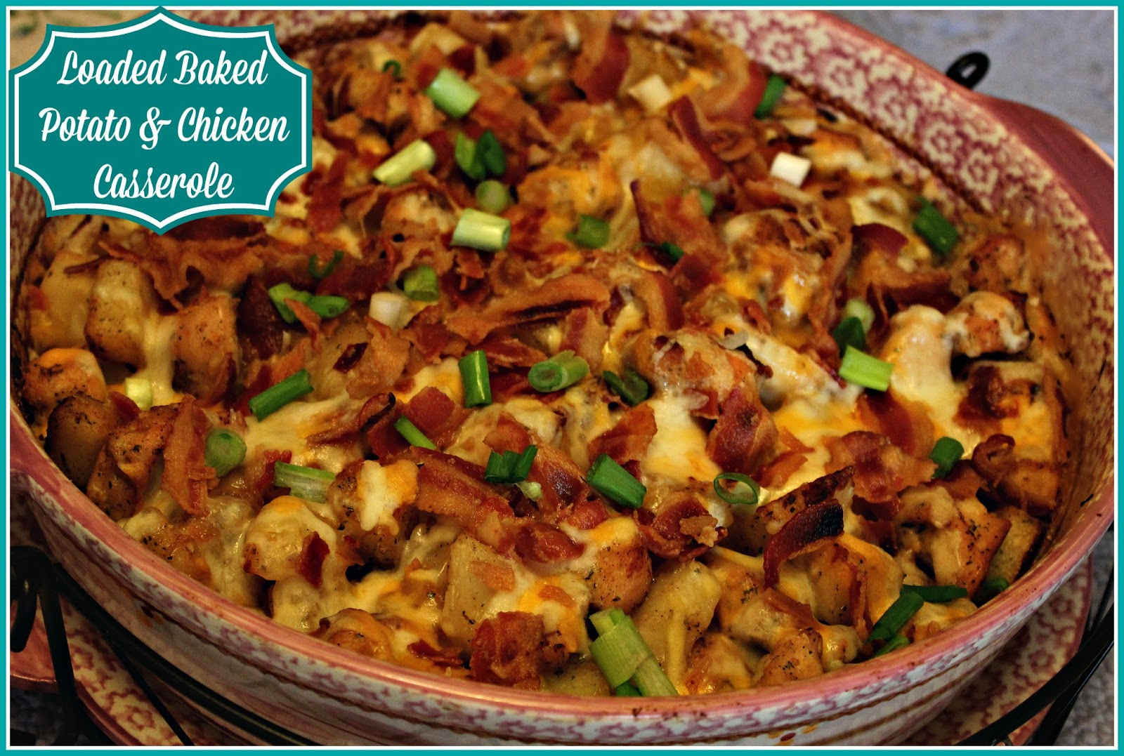 how to cook a chicken in the oven with potatoes