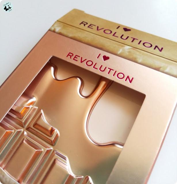 PALETA CIENI DO POWIEK ROSE GOLD MINI CHOCOLATE PALETTE OD MAKEUP REVOLUTION