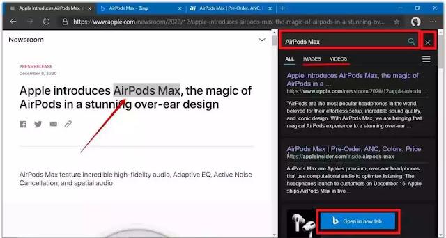 مايكروسوفت تطلق ميزة جديدة في متصفح إيدج ستغير طريقة البحث كليًا.. إليك التفاصيل
