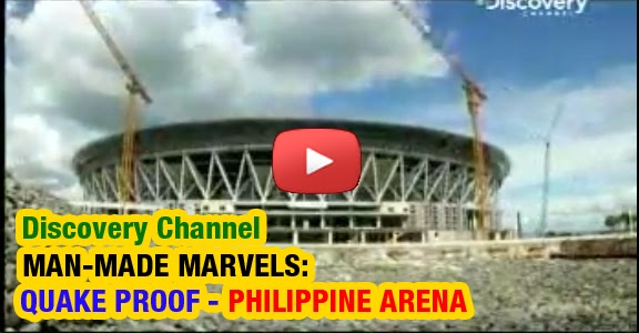 Man Made Marvels: Quake-Proof PHILIPPINE ARENA (REPLAY VIDEO) Discovery Channel