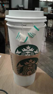 Starbucks Venti Jade Citrus Mint refil