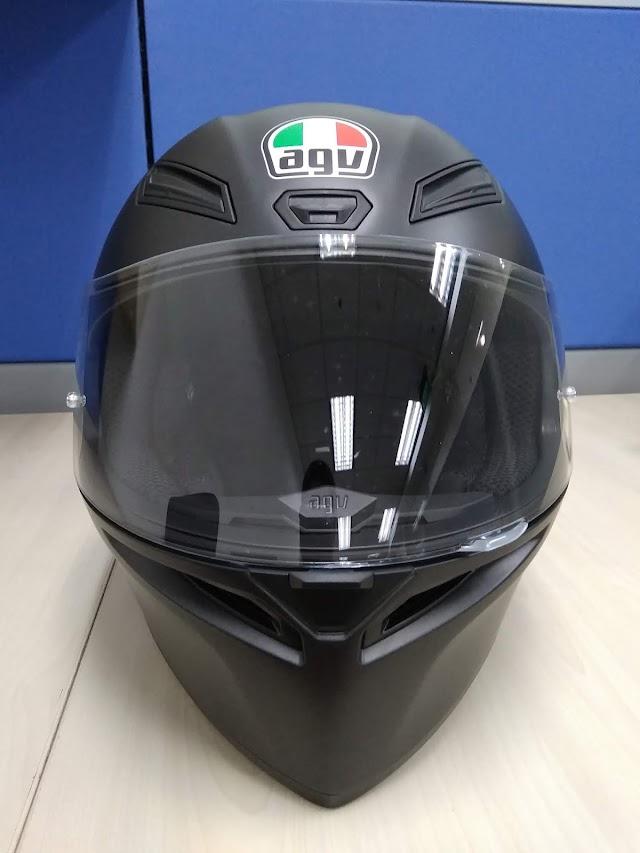 Review Pemakaian Helm AGV K1, Benarkah Sebagus Itu?