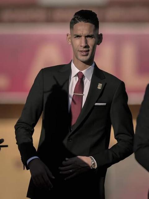 بدر بانون فى جلسة تصوير النادى الأهلى لكأس العالم للأندية 2021