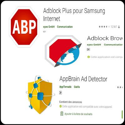Application pour bloquer les publicités sur android et ordinateur