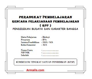 Download RPP KTSP Biologi Kelas XI SMA