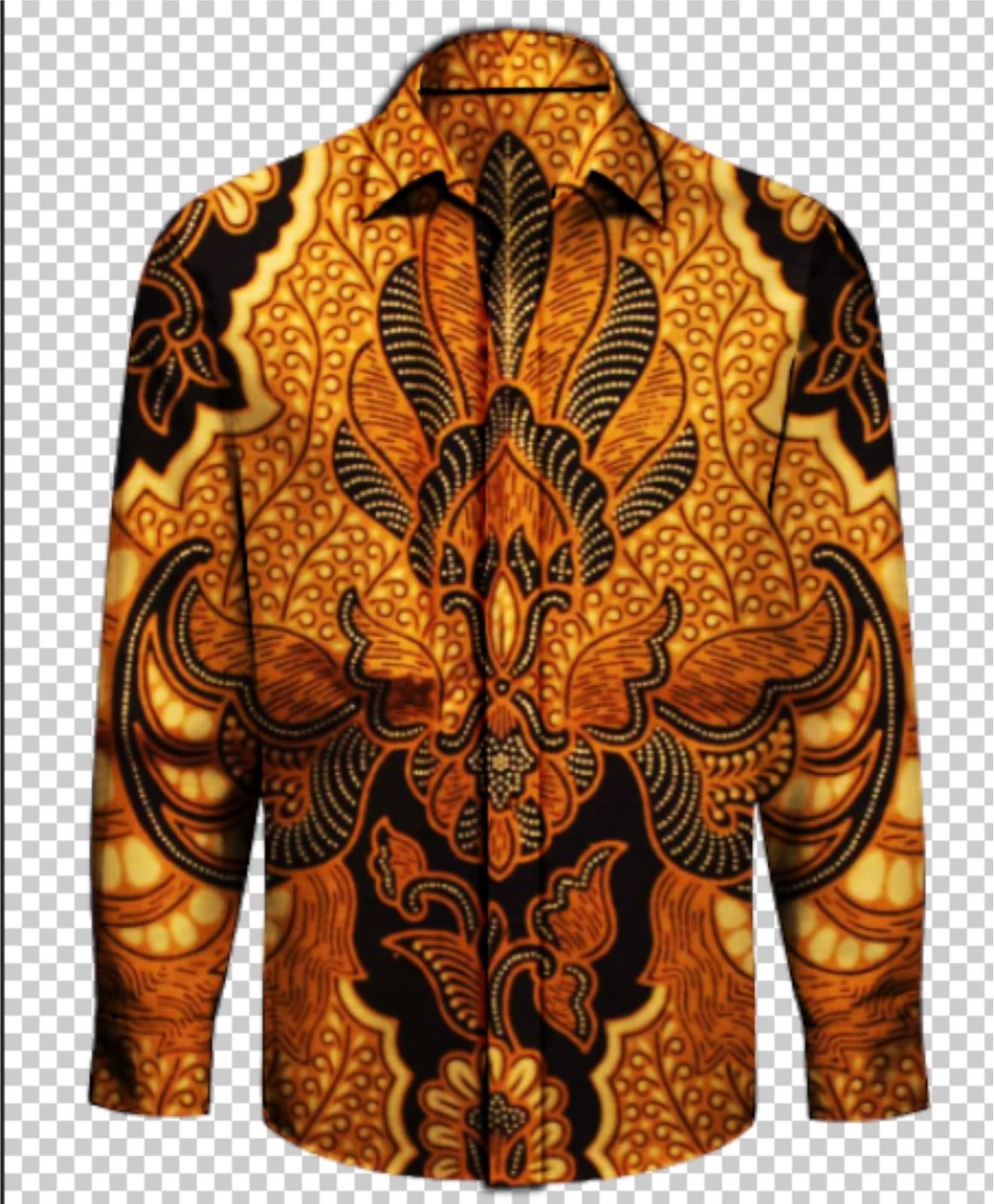 Tutorial Mudah Desain Baju Batik Pria dengan Photoshop ...