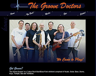 Groove Doctors (a seven piece rock-soul-blues-funk whirlwind)