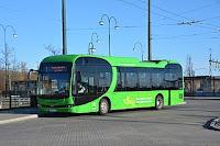 El-buss i Landskrona, Sverige. Foto: Bengt Oberger, wikimedia. Lisens CC by-sa 4.0