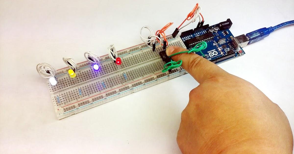 ARDUINO UNO - Intermedio 01: Encender Leds con pulsador y Lectura digital serial