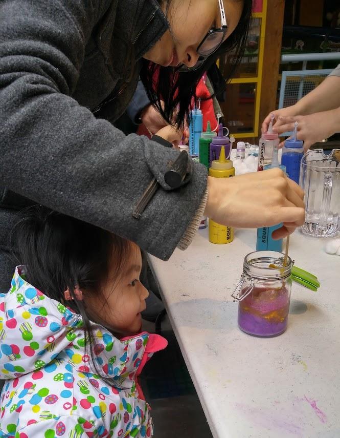 Granville Island Kids' Craft Day Galaxy in a Jar