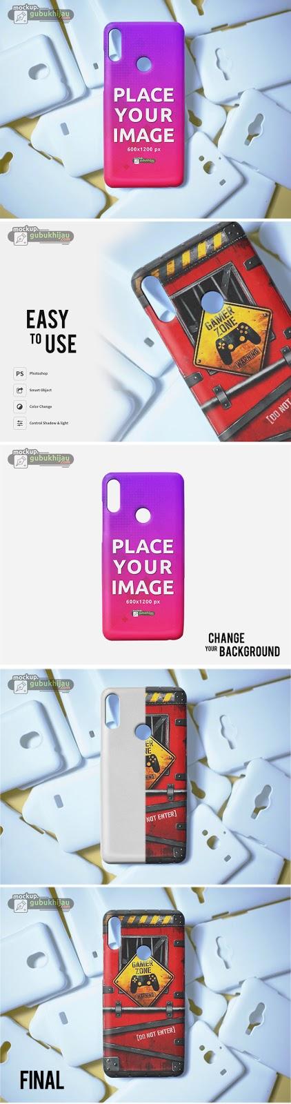Mockup Custom Case Realme 3