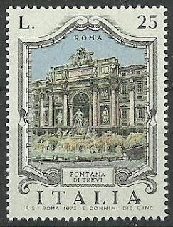 Italy 1973 Italian Fountains Trevi