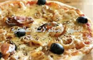 بيتزا بفواكه البحر