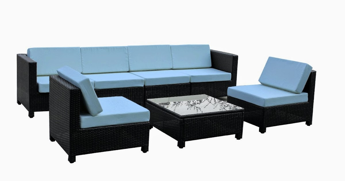 Sale Discount Until 81% Exacme 7 pcs Luxury Wicker Patio Sectional ...