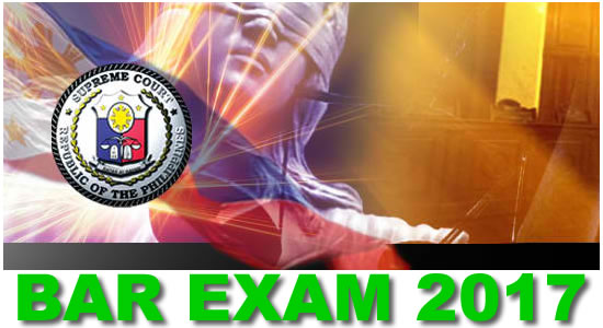 List of Passers 2017 Bar Exam results