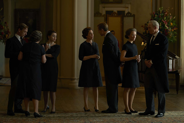 La familia real en 'The Crown'