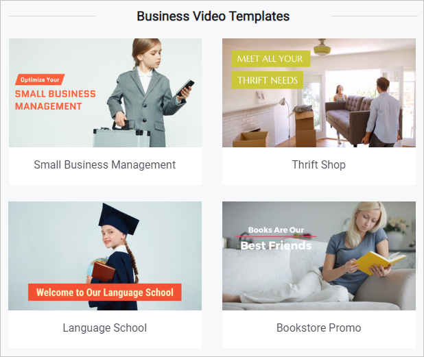 video editor business, business video maker, business video, google my business video