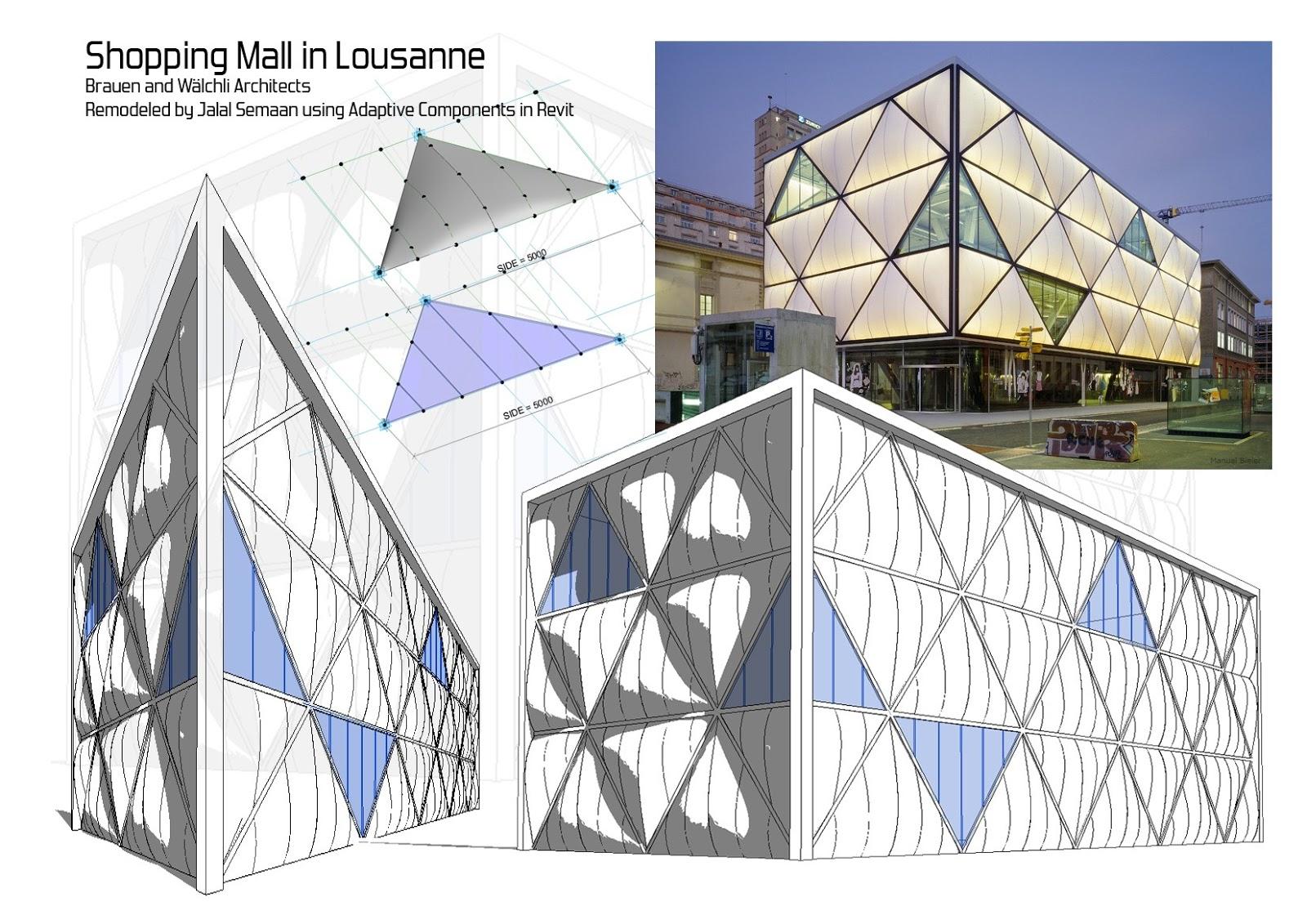ETFE Design in Revit