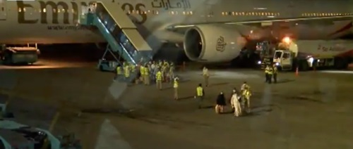 COVID-19: About 256 Nigerians Evacuated From Dubai Arrive Lagos (Video)