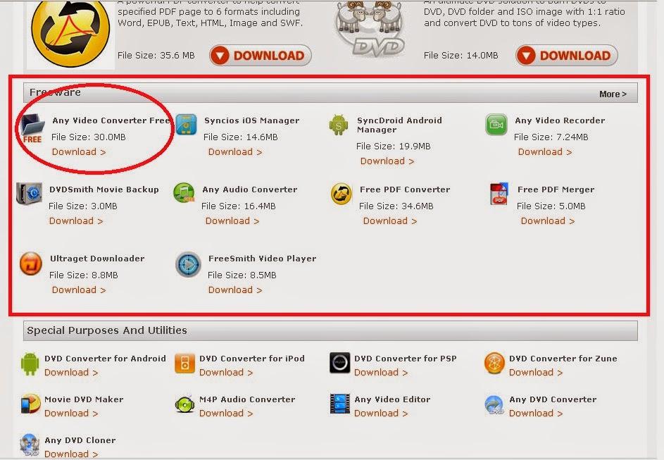 cara download gratis any video converter 2