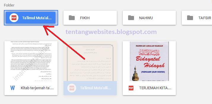 Cara Cepat Memindahkan File Ke Folder Di Google Drive Komputer Dan Blog